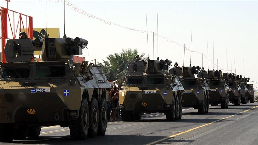 Rum Milli Muhafız Ordusu'nun silah kapasitesini artırdığı bildirildi