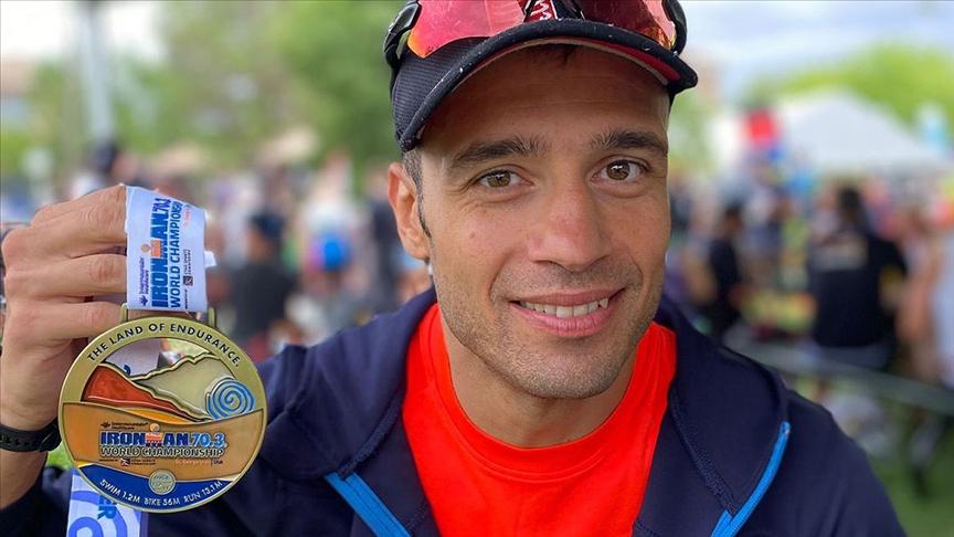 Triatlet Bahadır Tama'dan Ironman 70.3 Dünya Şampiyonası'nda tarihi başarı