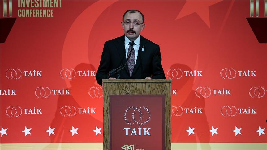 Bakan Muş: ABD gibi stratejik ortaklarımızla ticaret ve yatırım ilişkilerimizi geliştirmeye devam etmek istiyoruz