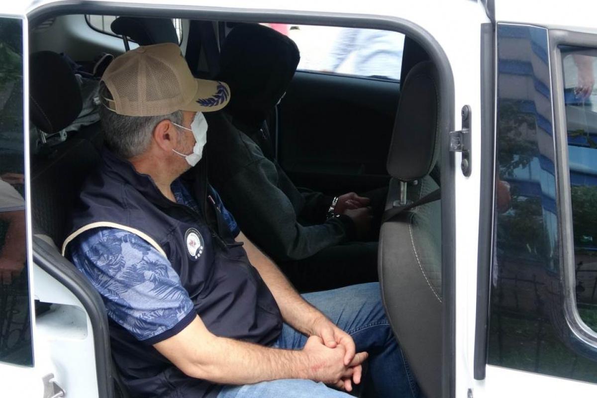 Samsun'da yakalanan PKK'lı tutuklandı
