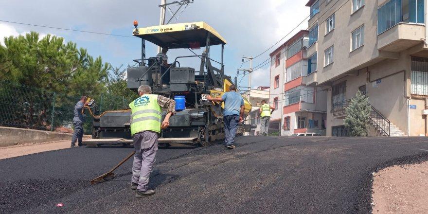 Gebze' Üst Yapı Çalışmaları Devam Ediyor