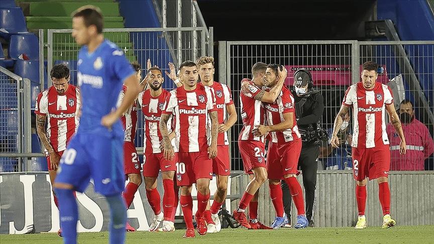 Atletico Madrid, La Liga'da galibiyeti son dakika golüyle aldı