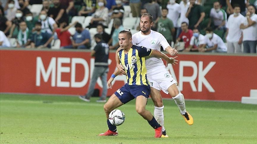 Fenerbahçe'nin Süper Lig'de yarınki konuğu Giresunspor