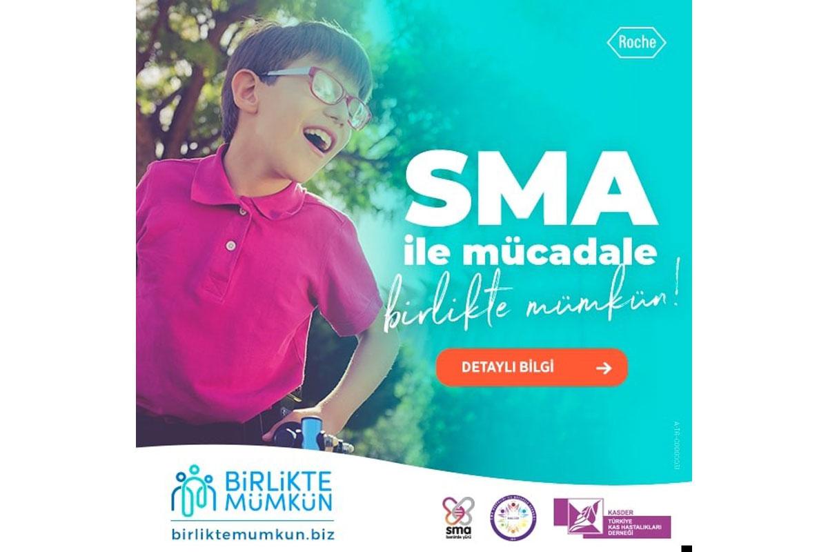 Birlikte Mümkün' projesi ile SMA'nın önlenebilir bir hastalık olduğuna dikkat çekiliyor
