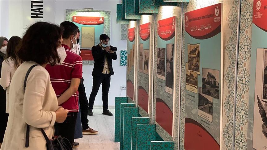 Yunus Emre Enstitüsü Suriye Azez'de 'Hatırladıkça Biz Oluruz' sergisini açtı