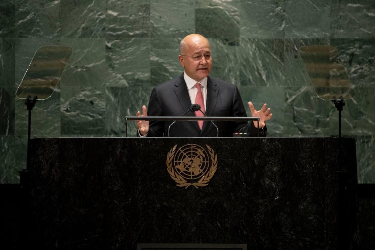 Irak Cumhurbaşkanı Salih: 'Irak'ta istikrar sağlanmadan bölge istikrarının sağlanması mümkün değil'