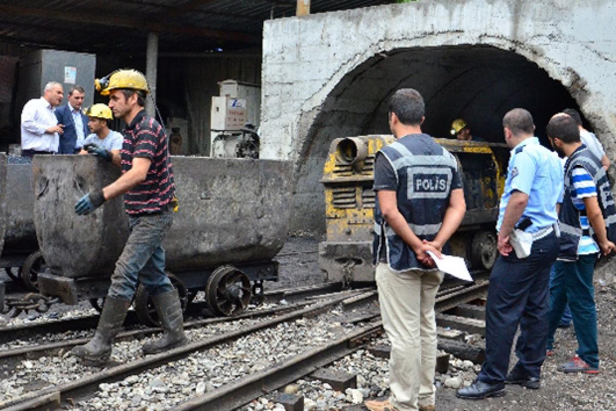 Maden ocaklarında 40 işçinin testi pozitif, 28 işçi karantinada