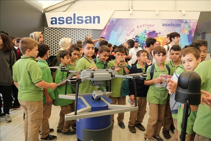 Çocuklar teknolojiyi ASELSAN ile keşfediyor