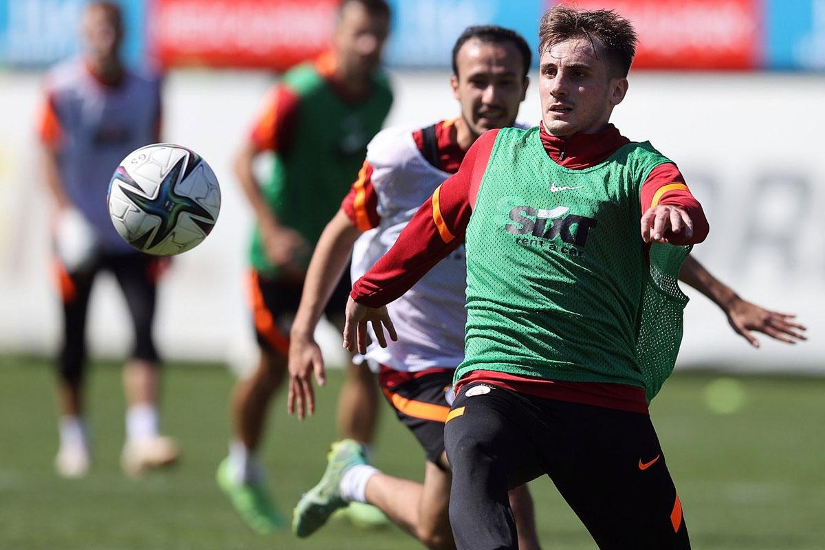 Galatasaray'da Göztepe hazırlıkları sürüyor