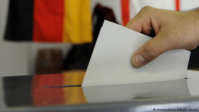 Almanya genel seçimler için sandık başında