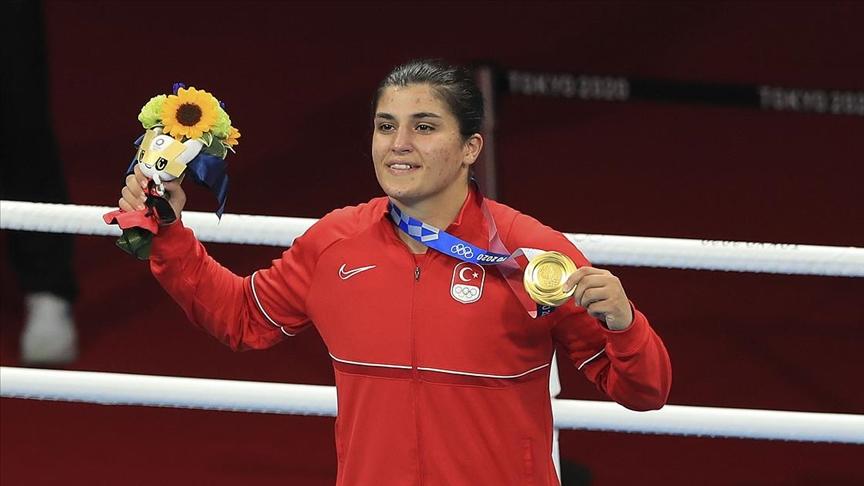 Olimpiyat şampiyonu milli boksör Busenaz hazırlıklara tenisle başlayacak