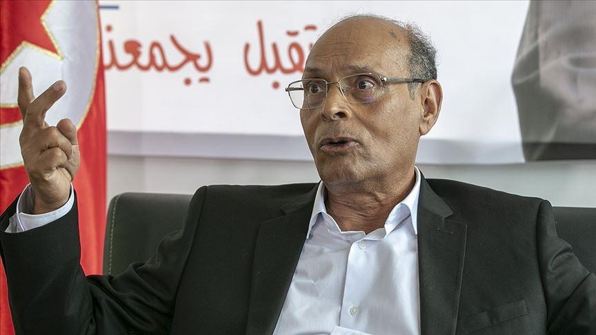 Eski Tunus Cumhurbaşkanı Merzuki Cumhurbaşkanı Said'e yönelik protestolara destek verdi