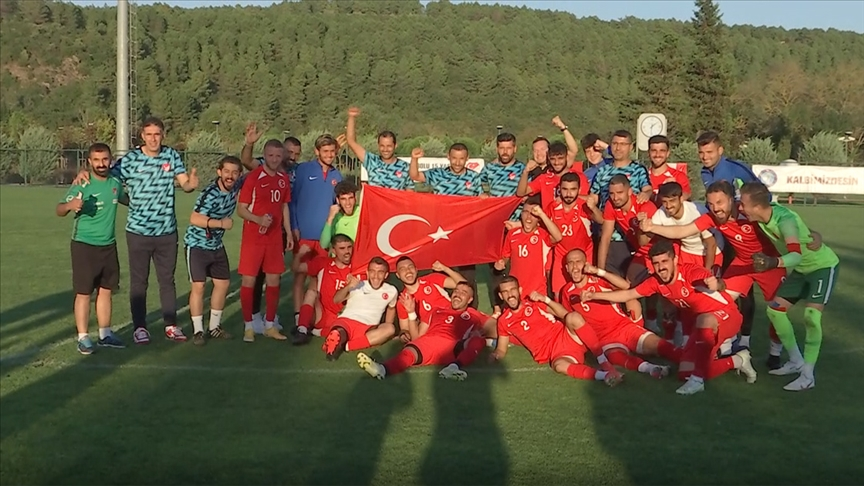 İşitme Engelliler Futbol Milli Takımı 2022 Deaflympics'te iddialı