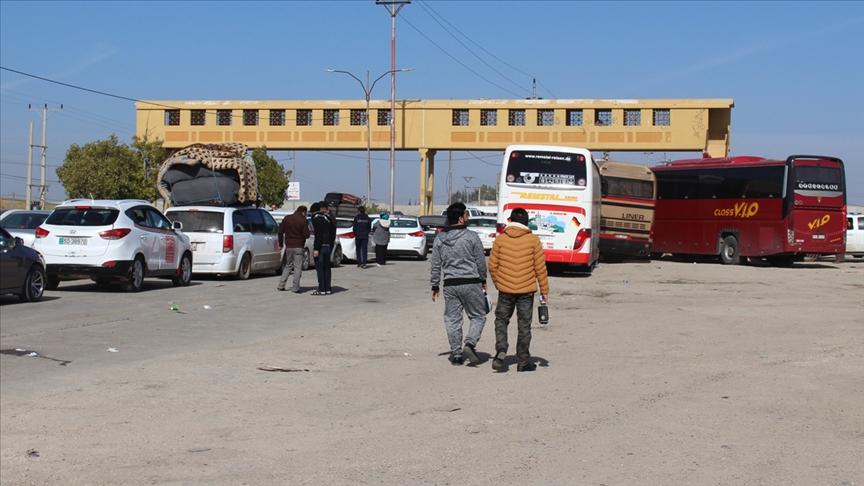Ürdün ve Suriye arasındaki Cabir Sınır Kapısı tekrar faaliyete geçiyor