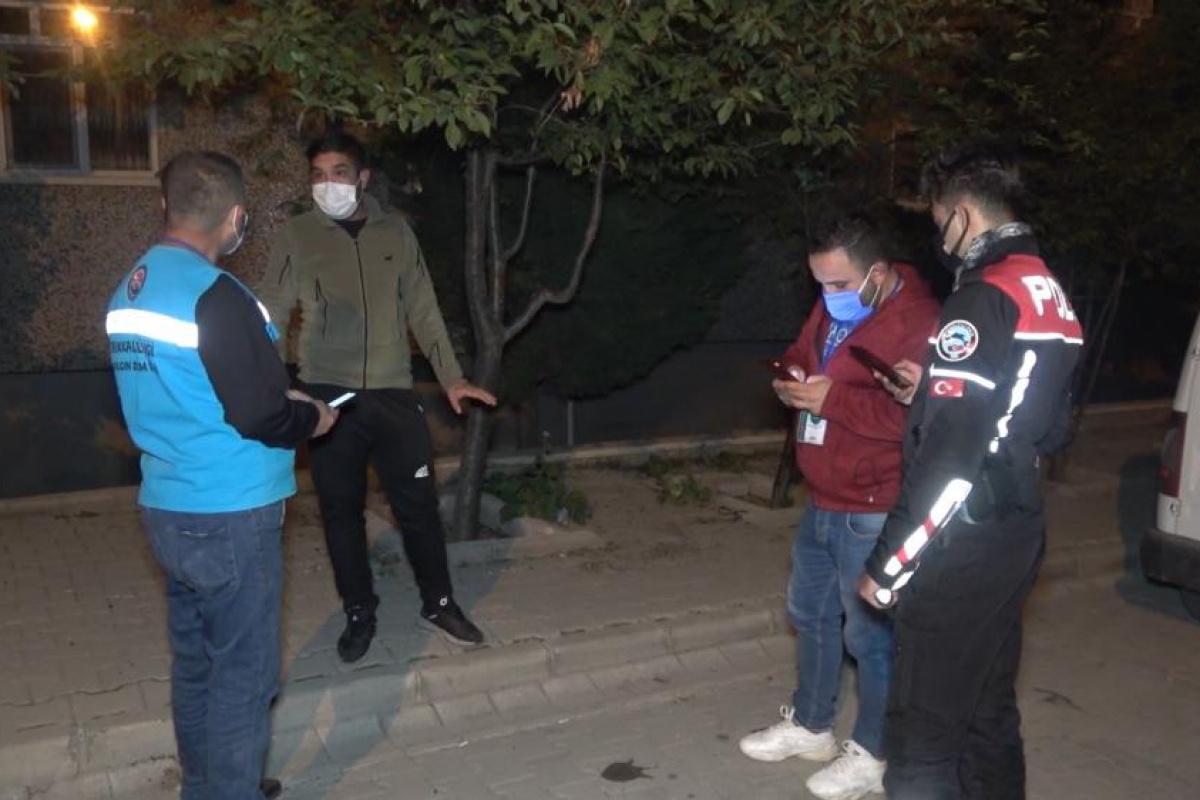 Çöp atmak için karantinayı delen koronalı genç, 4 bin 50 lira ceza yedi