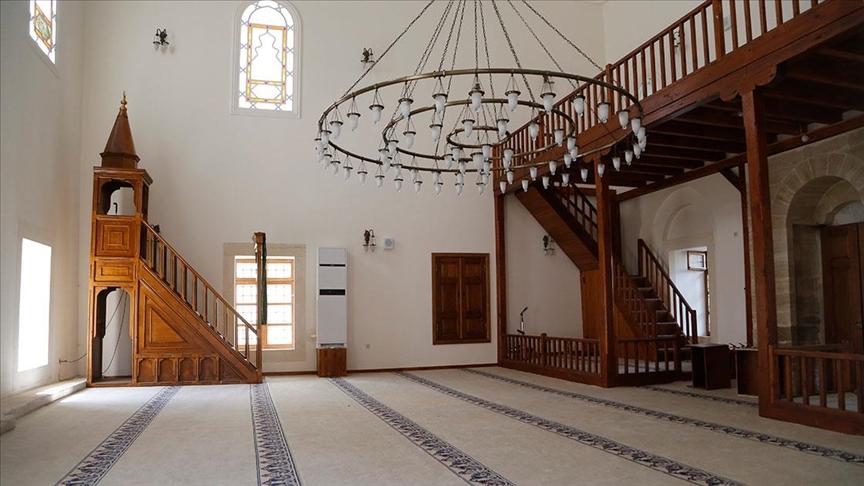 Restore edilen 523 yıllık cami ibadete açılacak