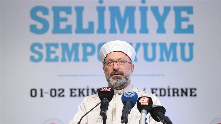 Diyanet İşleri Başkanı Erbaş: Cami mimarisi standartları projemiz elhamdülillah tamamlanmış durumda