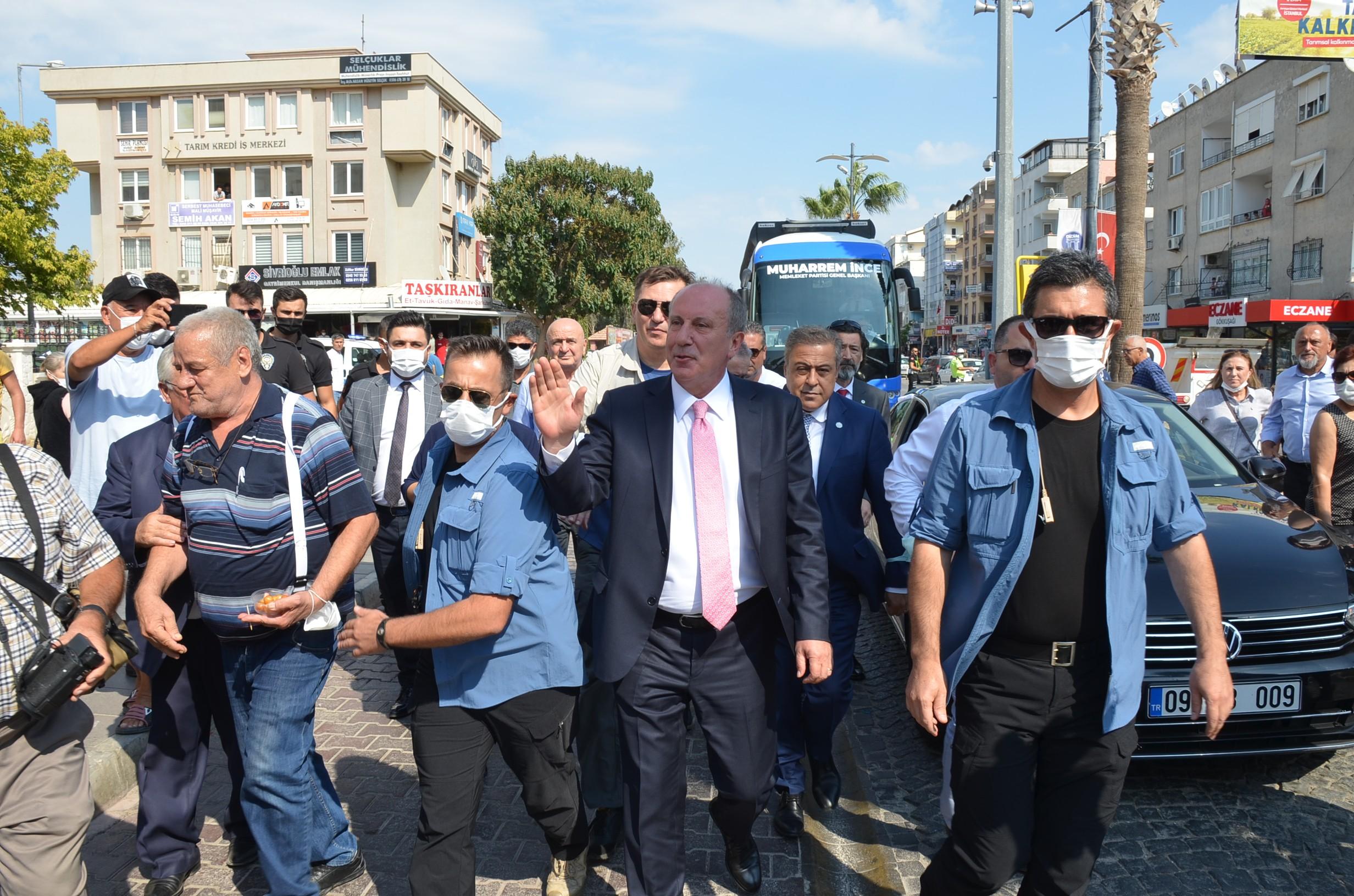 Memleket Parti Genel Başkanı İnce'ye tepki
