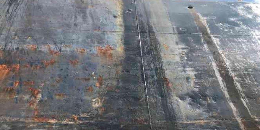 Hidrolik yağ sızıntısıyla denizi kirleten gemiye 3 milyonluk ceza