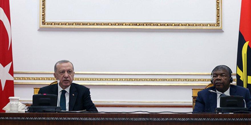 Türkiye ile Angola arasında 7 anlaşma imzalandı