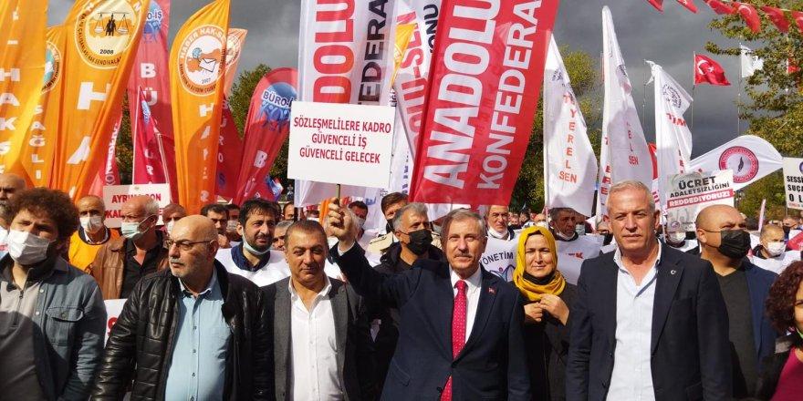 """Gelecek Partisi Sendikal Kota Hukuksuzluğuna """"Dur"""" Dedi"""