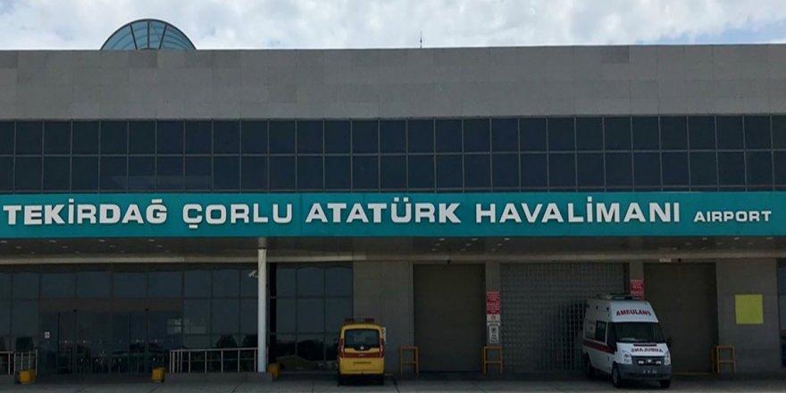 Çorlu-Ankara uçak seferleri yeniden başlıyor