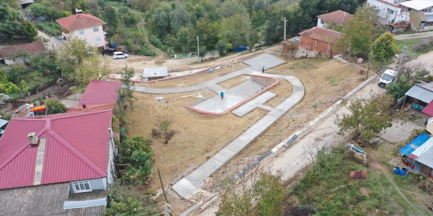 İzmit Sepetçiler Köyü'ne modern park