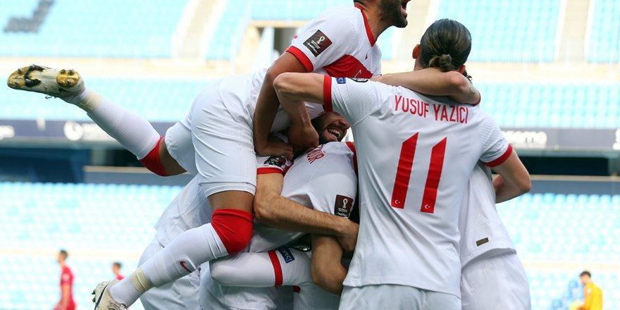 A Milli Futbol Takımı, dünya sıralamasında 39. sıraya yükseldi