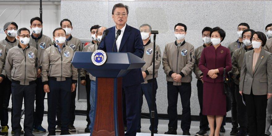 Güney Kore'nin fırlattığı ilk yerli roket, uyduyu yörüngeye yerleştiremedi