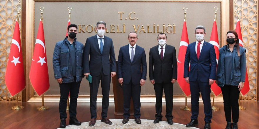 PTT'den Vali Yavuz'a Ziyaret