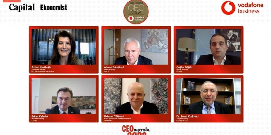 İŞ DÜNYASI CEO CLUB'DA2022 AJANDASINI KONUŞTU