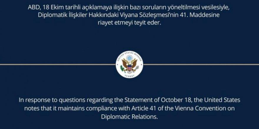 Büyükelçiliklerden, Osman Kavala açıklamasından sonra geri adım