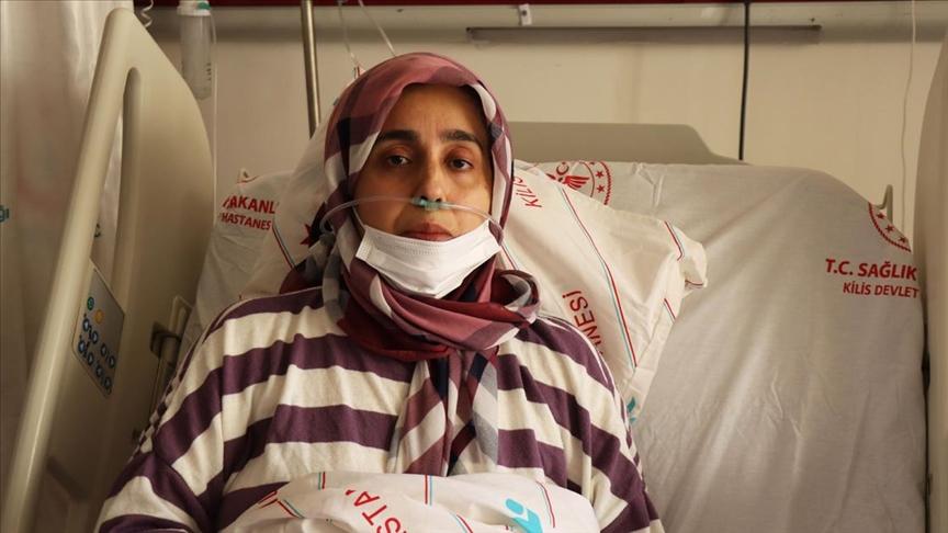 Kovid-19'a Yakalanan Kadın: Bu saatten sonra kaçış yok