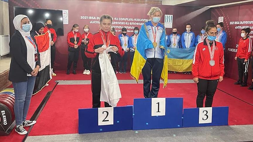 Görme Engelli Halterciler,  2'si altın 10 Madalya Kazandı