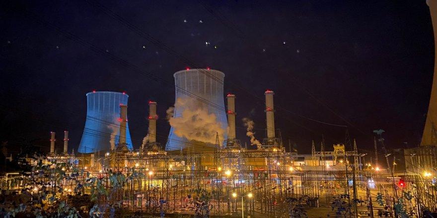 Doğalgaz santralinde korkutan patlama sesi
