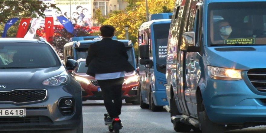 İstanbullu sürücülerin scooter isyanı: 'Hayalet gibi her yerden çıkıyorlar'