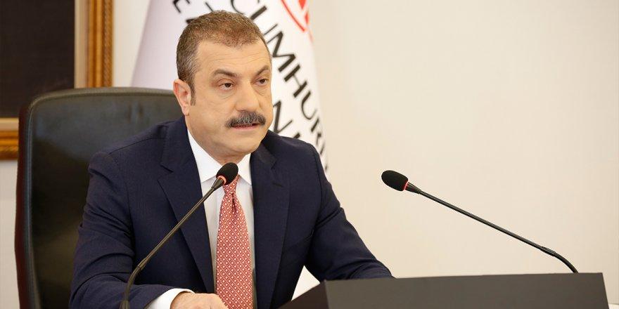 Merkez Bankası Başkanı Kavcıoğlu: 'Enflasyonun kademeli olarak hedeflere yakın sayacağını öngörüyoruz'