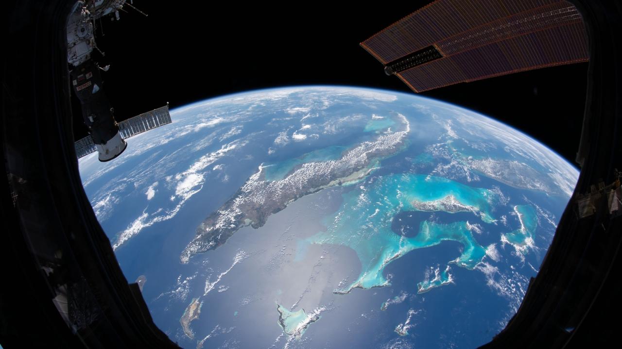 Uzaydan çekilen nefes kesici Dünya fotoğrafları