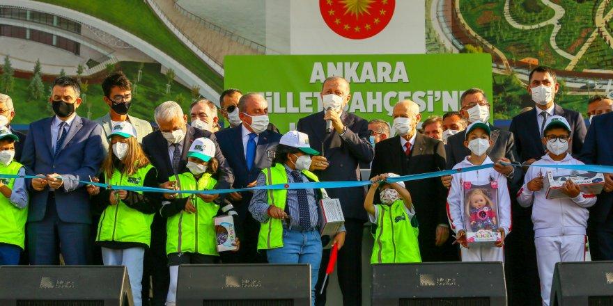 Cumhurbaşkanı Erdoğan duyurdu: İstanbul Atatürk Havalimanı'nda da millet bahçesi kuruyoruz