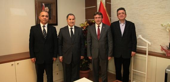Başkan Demirci, TOSB yöneticilerini ağırladı