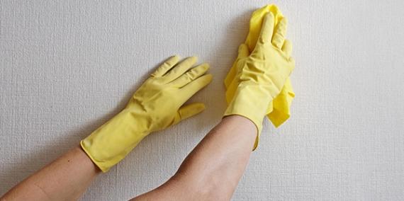 Duvar temizliğinde kolaylık