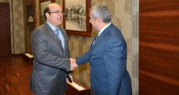 Başkan Baran Başsavcı Kaplan'ı ağırladı