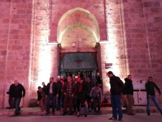 Teröre inat Bursalılar Ulu Cami'ye akın etti