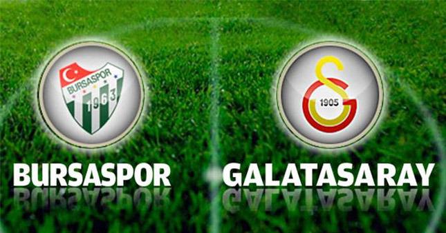 Galatasaray, Deplasmanda Bursaspor ile Berabere Kaldı.