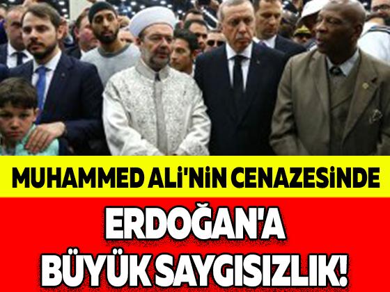 MUHAMMED ALİ'NİN CENAZESİNDE ERDOĞAN'A BÜYÜK SAYGISIZLIK!