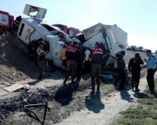 Facia gibi kaza: 7 ölü, 5 yaralı