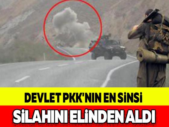 DEVLET PKK'NIN EN SİNSİ SİLAHINI ELİNDEN ALDI