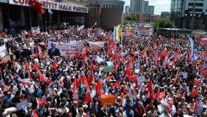 Binlerce CHP'liden Kılıçdaroğlu'na Destek