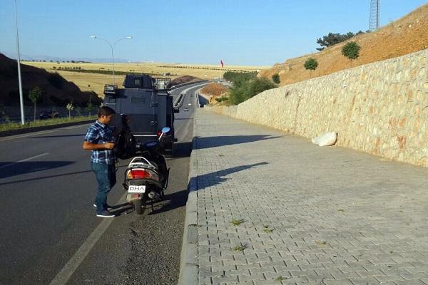 ŞÜPHELİ TORBA POLİSİ ALARMA GEÇİRDİ