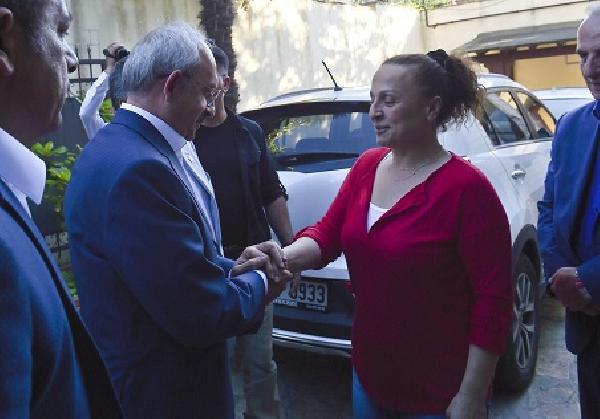 Kılıçdaroğlu'ndan Yaşar Nuri Öztürk'e ziyaret